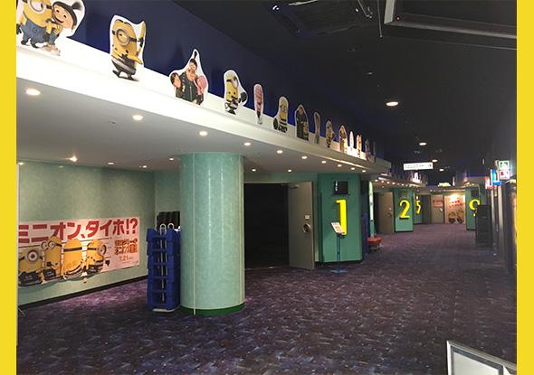劇場装飾コンテスト 映画 怪盗グルーのミニオン大脱走 公式サイト 7月21日 金 全国ロードショー